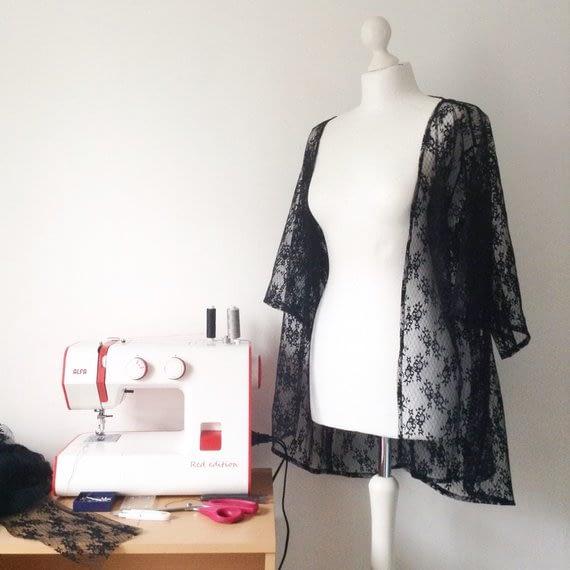 Work in progress - Lace Kimonos