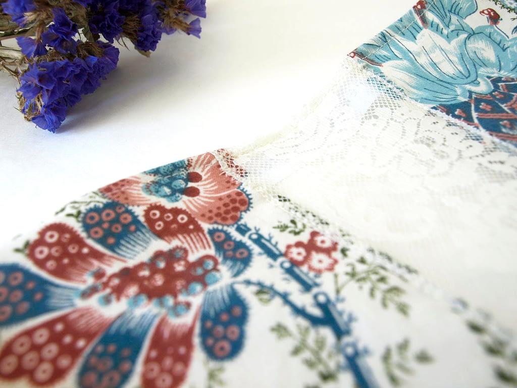 Sapphire Short Kimono Jacket - Reworked Vintage