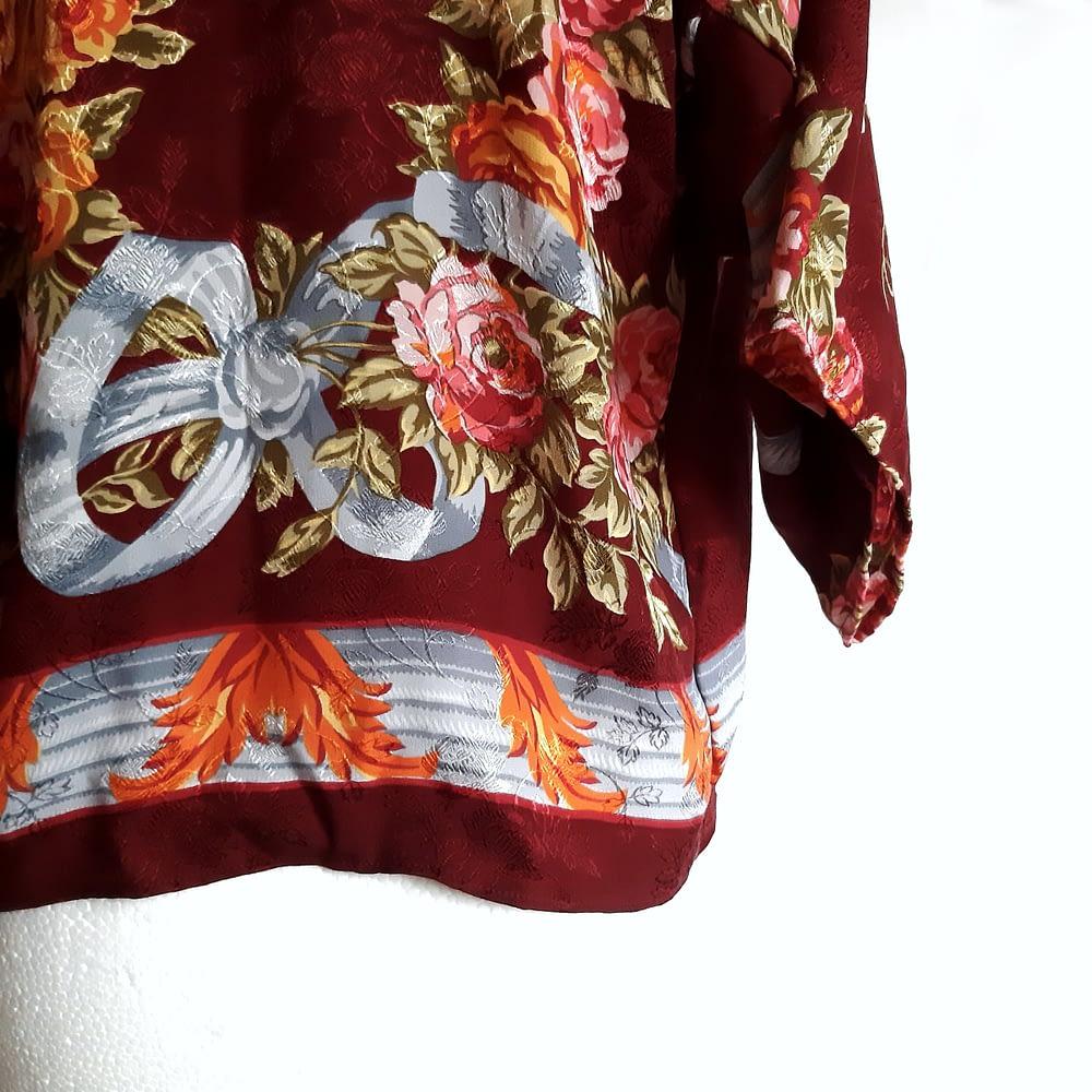 Detail Vintage Silk Kimono