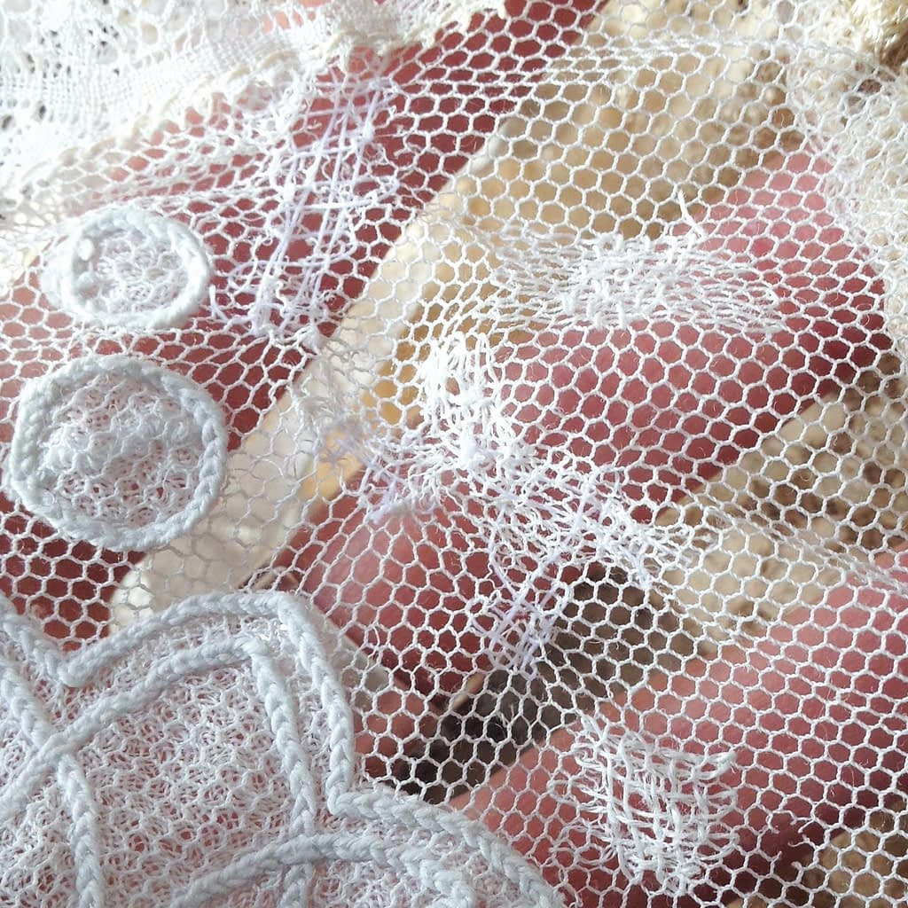 Reworked Vintage Lace