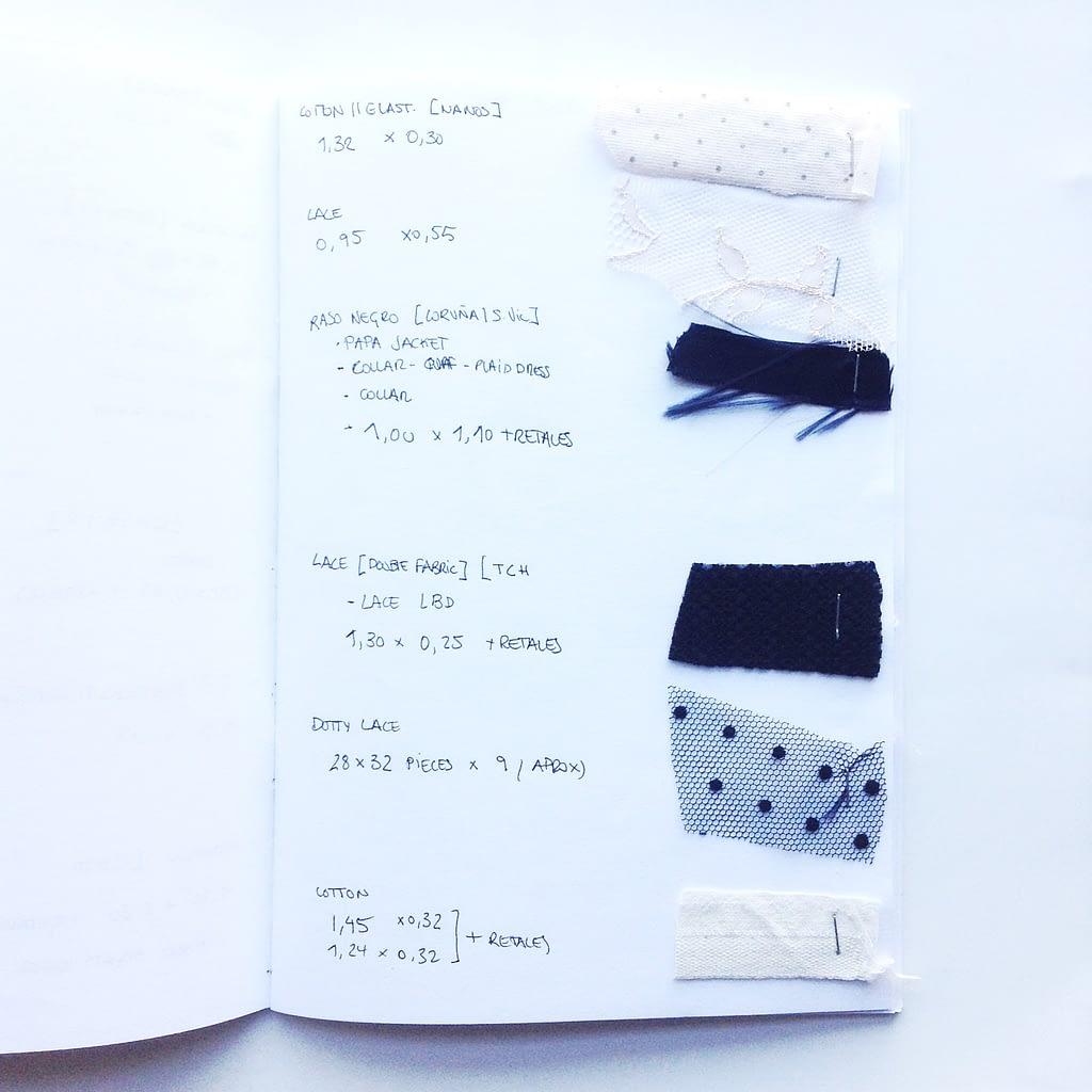 Fabricholic notebook