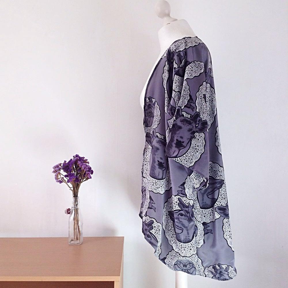 Romantic and Quirky Kimono Jacket