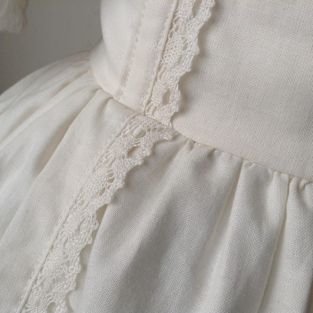 Shiro Lolita Outfil - Detail Skirt